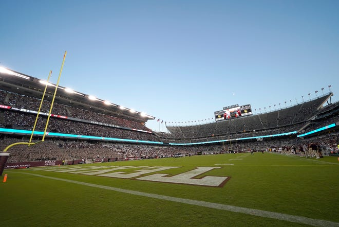 Texas A&M's home field: Kyle Field in College Station, Texas.