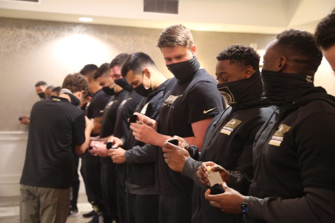Ring Night is one of the many traditions for an Army football player. ARMY WEST POINT ATHLETICS