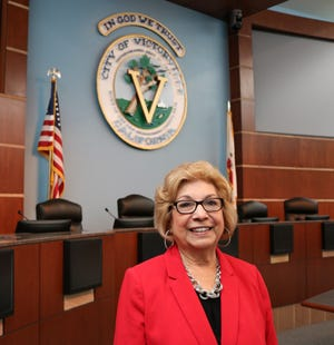 Victorville Mayor Gloria Garcia, who was first elected to the council in 2012, is seeking a third term on the dais during the Nov. 3, 2020, election.