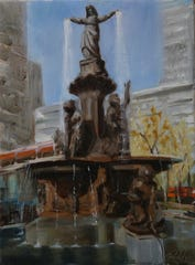 """The Lady of the City"" by Deborah Ridgley."