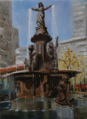 """The Lady of the City"" by Deborah Ridgley."