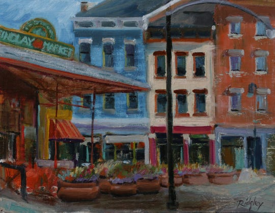 Findlay Market by Deborah Ridgley.