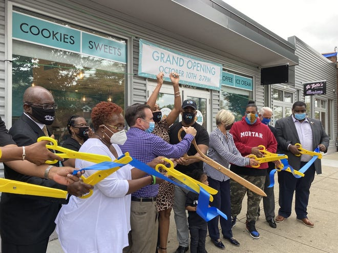 The new Davis Cookie Collection in Bond Hill is open to the public after a ribbon-cutting ceremony earlier today.