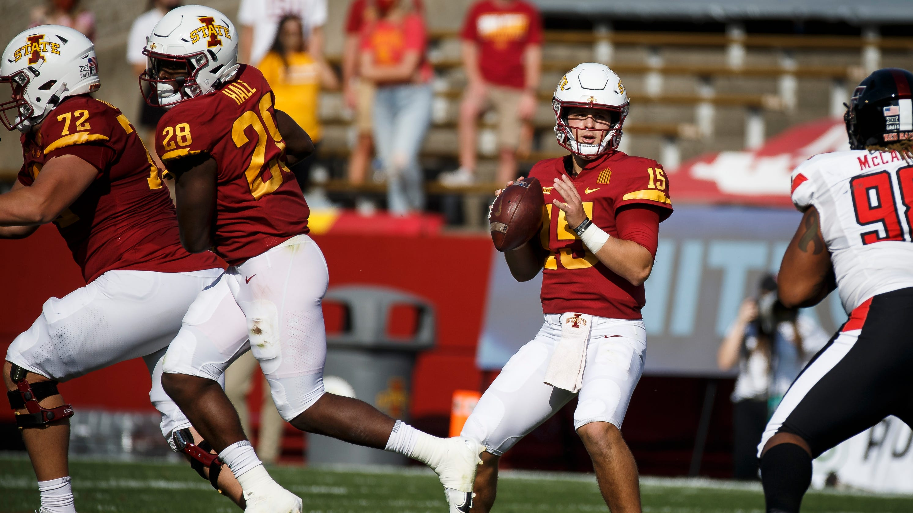 Iowa State football notebook: Mike Gundy calls Brock Purdy 'future NFL quarterback'