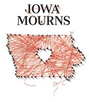 Iowa Mourns graphic
