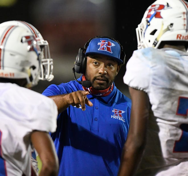 Riverside Head Coach Erie Williams
