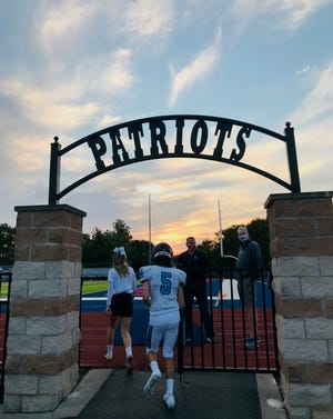 Livonia Franklin High football.