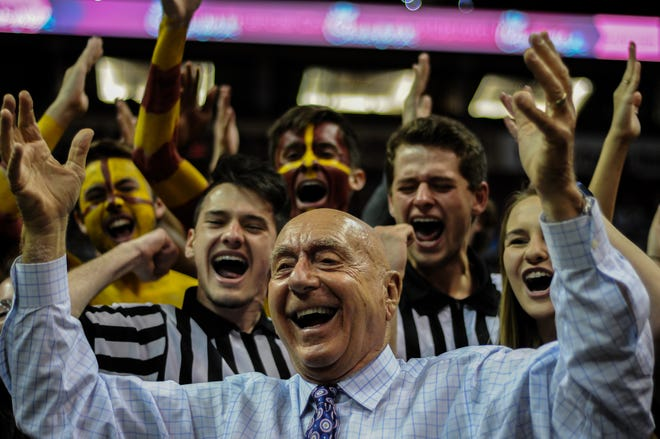 Dick Vitale's energetic personality and intense basketball knowledge have made him one of the faces of college basketball.