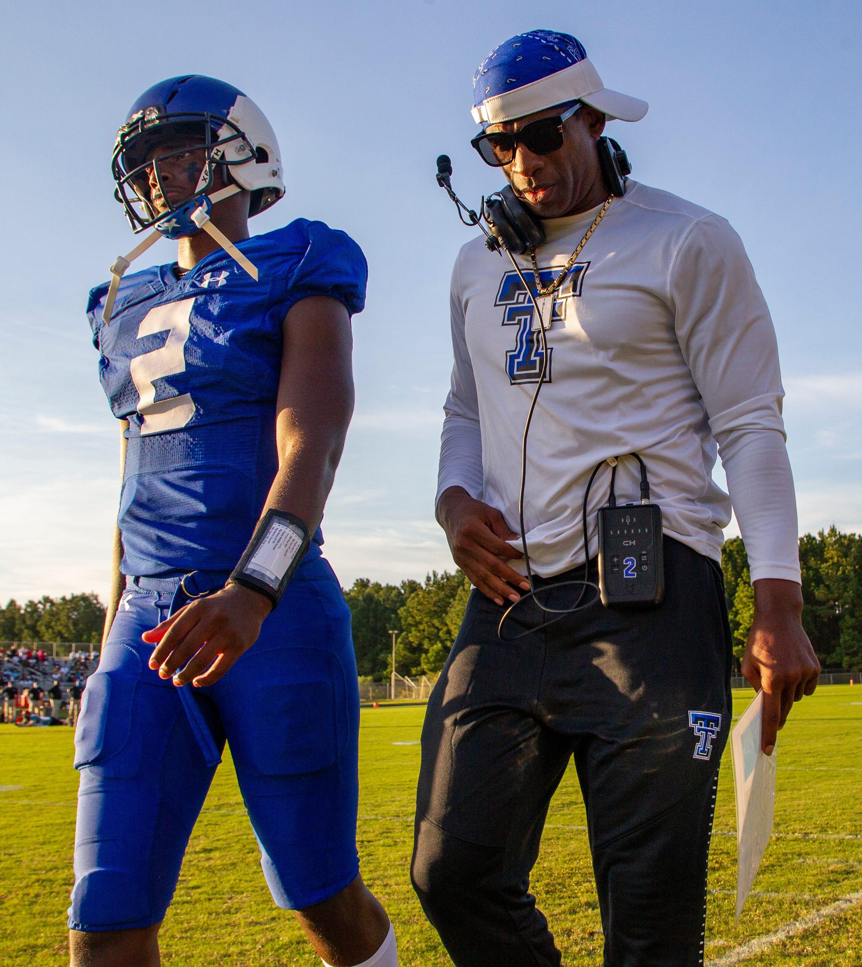 Deion Sanders lands his best recruit at Jackson State: his son, Shedeur Sanders