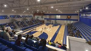 This artist's rendering shows a proposed high school athletic facility proposed to be part of the $290 million bond package for Wichita Falls ISD.