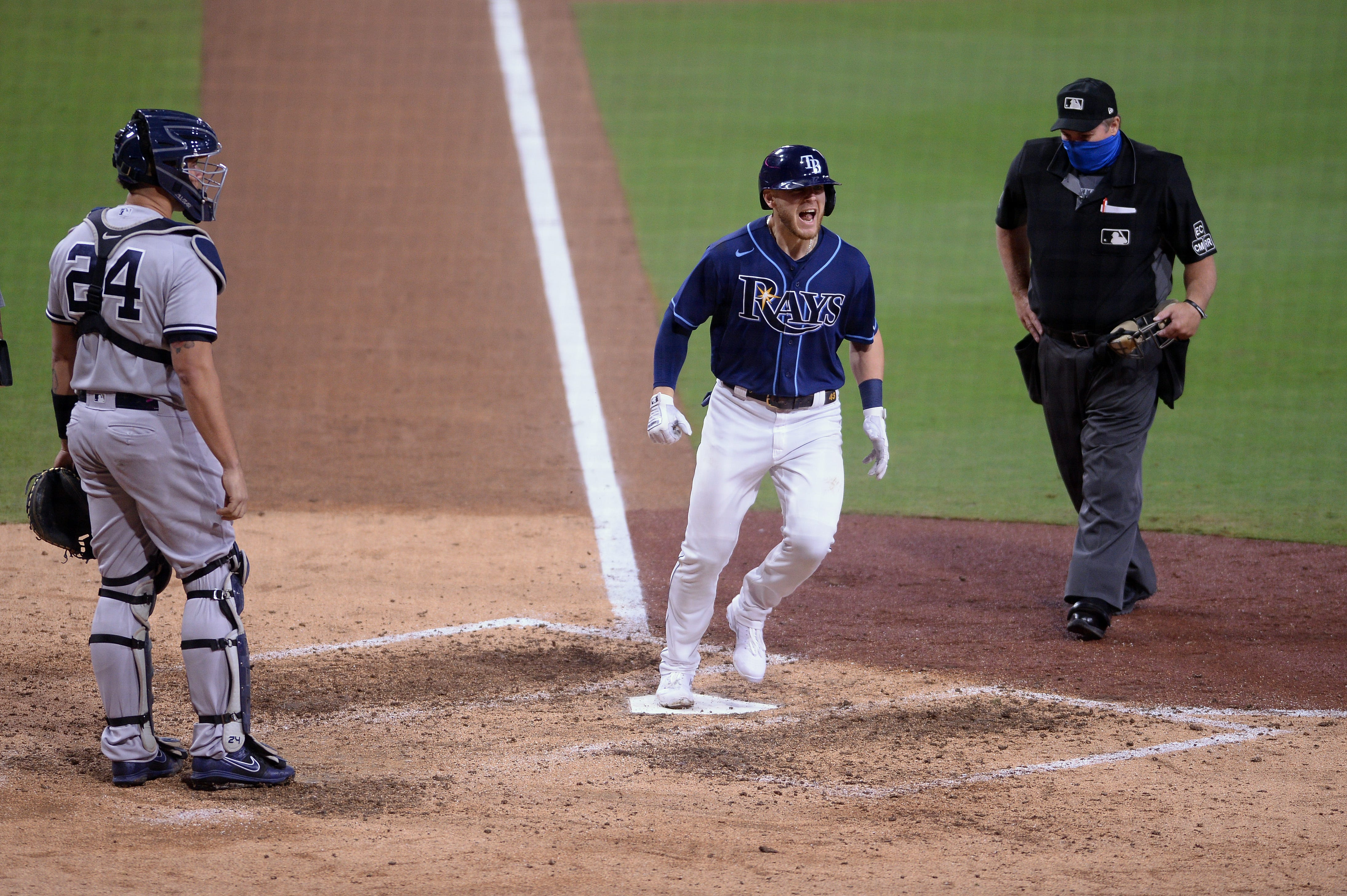Opinion: Mike Brosseau powers Rays into ALCS by getting revenge vs. Yankees' Aroldis Chapman
