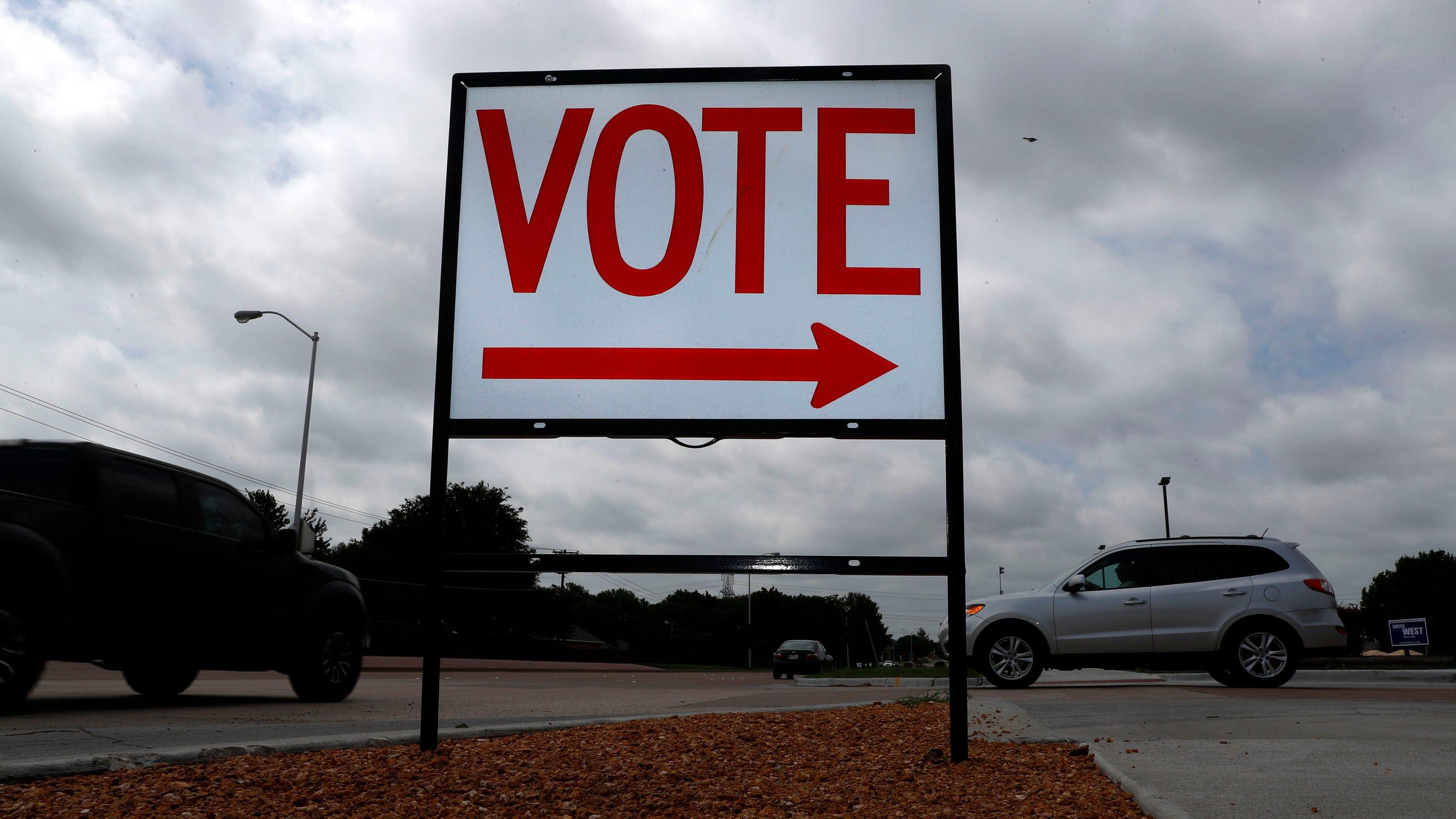 Federal judge blocks order limiting Texas ballot drop-off locations – USA TODAY