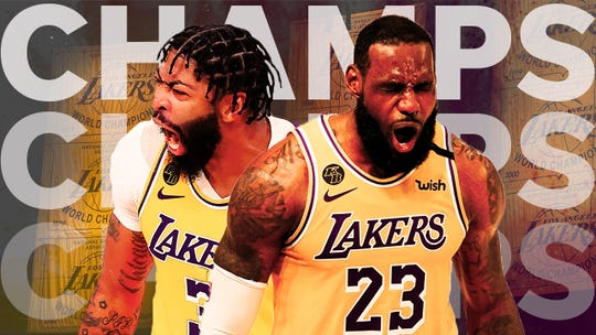 Former Lakers reflect on ending title drought and how they celebrated 2020 championship
