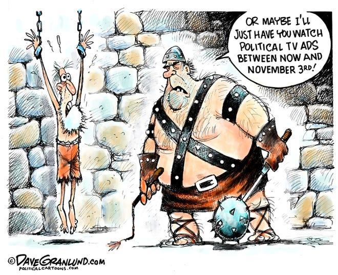 Rich Manieri column cartoon