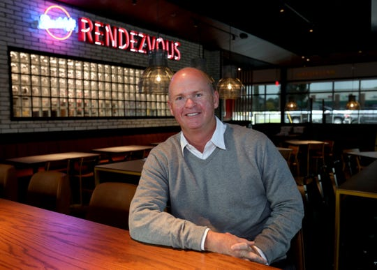 Burton Heiss, CEO of Buddy's Pizza, inside the new location in Troy on Tuesday, Oct. 6, 2020.
