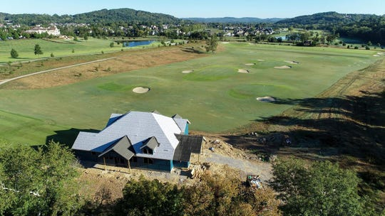 The new golf facility at The Grove is projected to be finished by the end of the year.
