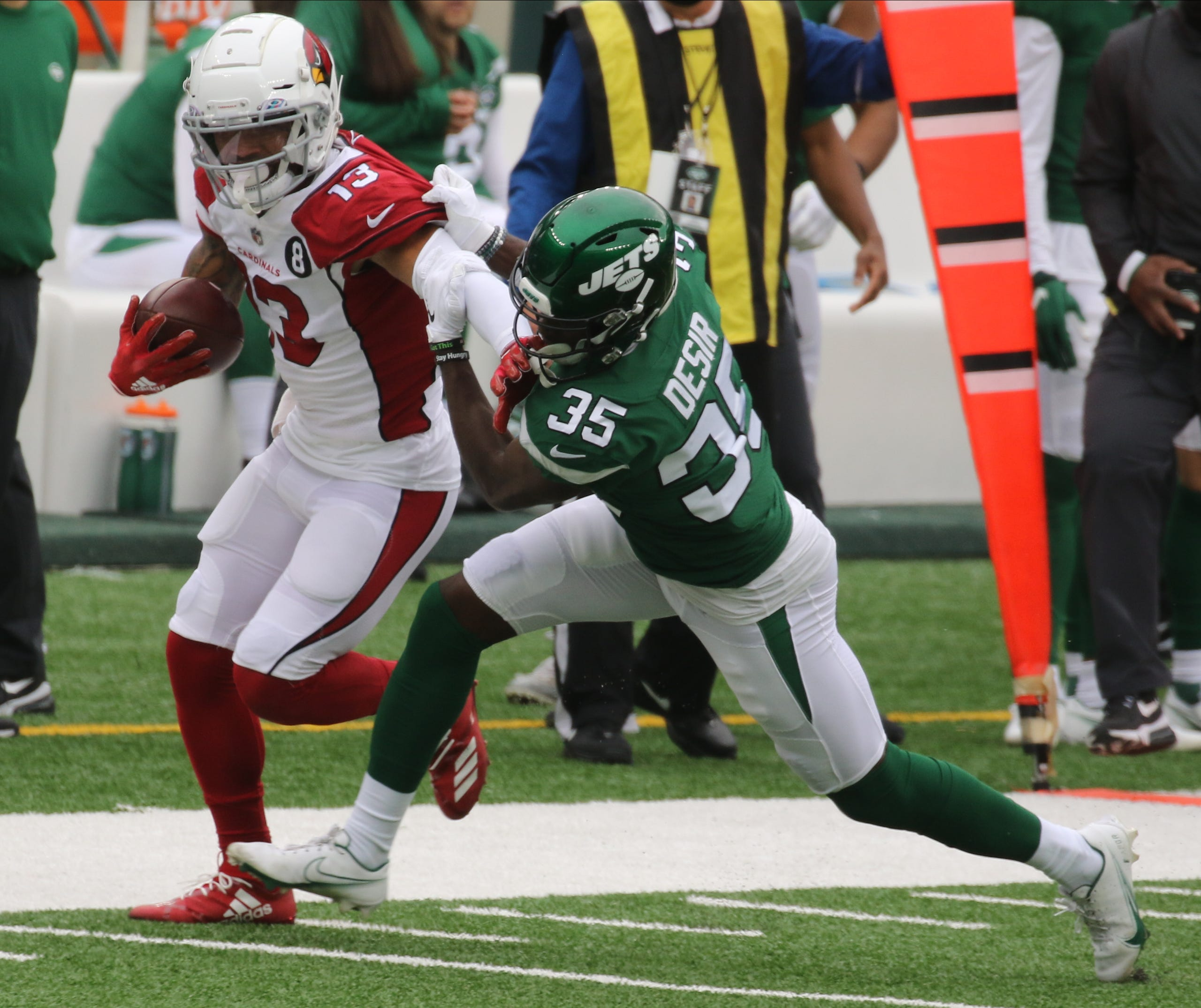 Arizona Cardinals vs NY Jets at MetLife Stadium