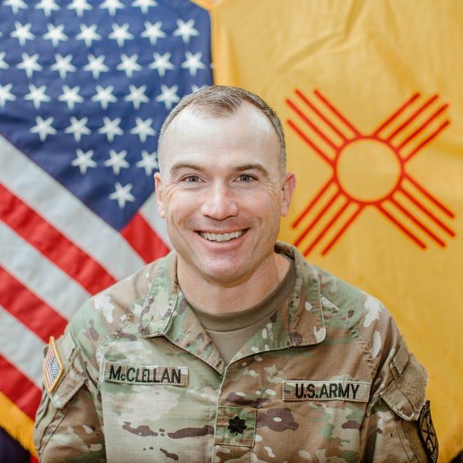 Lt. Col. Mark McClellan, NMSU Army ROTC commander
