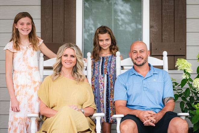 Dustin and Jilly McGowan have two daughters, McKensy, 12, and Brooklynn, 9. McKensy was diagnosed when she was 5.
