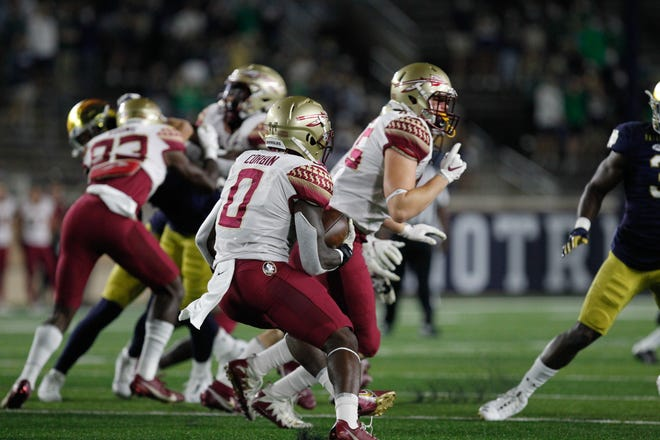 Despite falling behind early, the Seminoles showed marked improvement in their 42-26 loss at the hands of No. 5 Notre Dame.