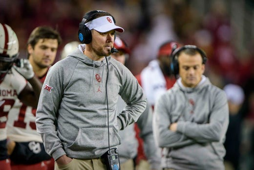 No. 9 Lincoln Riley, Oklahoma: $ 6,202,726. The Sooners have won the Big 12 Conference title in each of Riley's first three seasons as head coach, and the school has renegotiated his contract every year. He's now working under a six-year deal, and even with the pandemic-related reduction to which Riley agreed, it's scheduled to increase his pay to more than $7.3 million for the 2021 season.