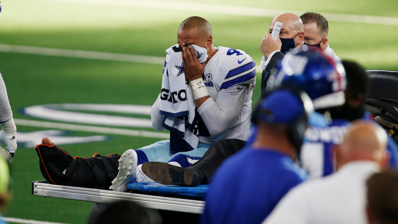 Cowboys QB Dak Prescott to undergo surgery on compound ankle fracture