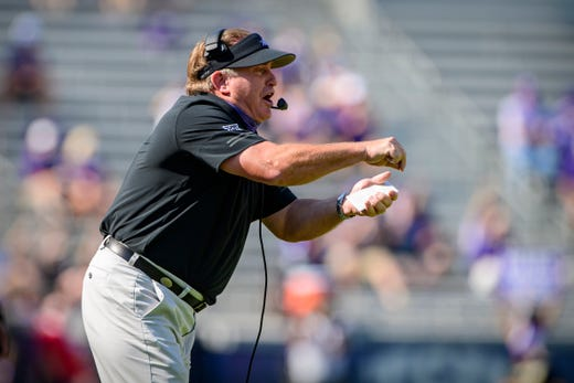 No. 10 Gary Patterson, Texas Christian: $ 6,130,937. Because TCU is a private school, Patterson's total is the one reported on the university's most recently available federal tax returns, which cover pay for the 2018 calendar year, including benefits and bonuses paid. Patterson's base pay was reported at just under $5.3 million – over $1 million more than the amount reported for 2017 – and he received $104,000 in bonuses.