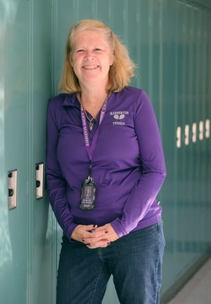 Make the Grade Amazing Teacher Ann Lynch, Barberton High School intervention specialist and tennis coach.