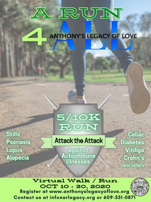 Anthony's Legacy of Love, a nonprofit organization, is hosting an online fundraiser from now until the end of the month.