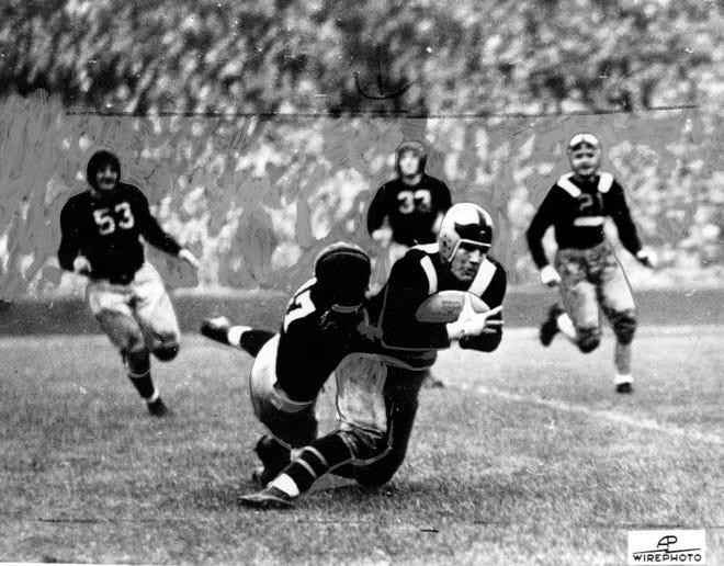 Ohio State vs. Michigan sometime in the 1930′s. [Dispatch file photo]