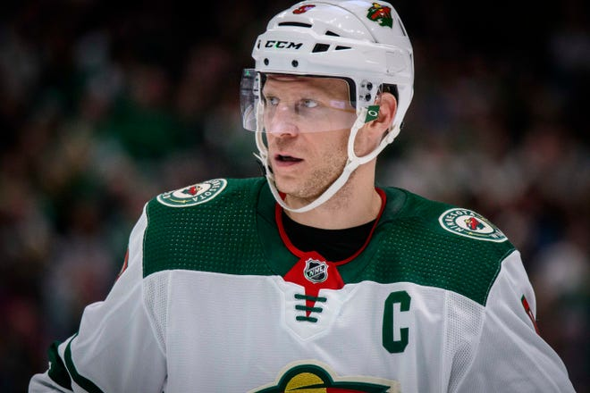 Center Mikko Koivu brings a wealth of experience to the Blue Jackets after playing all of his previous 15 NHL seasons with the Minnesota Wild.