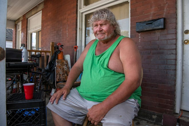 Wayne Street, 62, has rented a duplex in western Franklinton with three friends for four years, often giving him a close look at the crime that plagues the area.