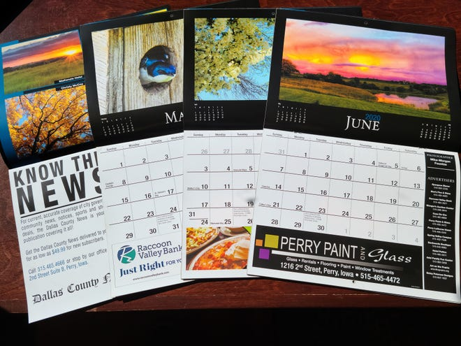 Entries for the Dallas County News calendar photo contest must be received by Friday, Oct. 30.