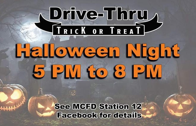 On Halloween Maury County Fire Station 12 located near Spring Hill at 1180 Carters Creek Pike will welcome young visitors and their chaperons to a drive-thru extravaganza celebrating the holiday.