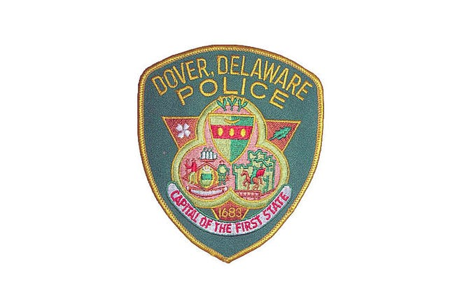 File photo of Dover Police Department logo.