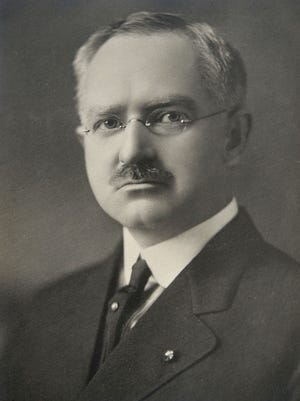 John William Wright, M.D., was in charge of battling the flu epidemic of 1918-1919 in Erie.