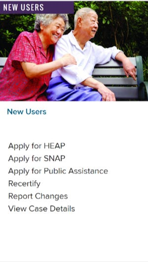 Applications for those benefits are located at mybenefits.ny.gov where people can apply for one or multiple programs.