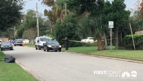 Investigators look into a suspicious death Monday morning in Atlantic Beach.