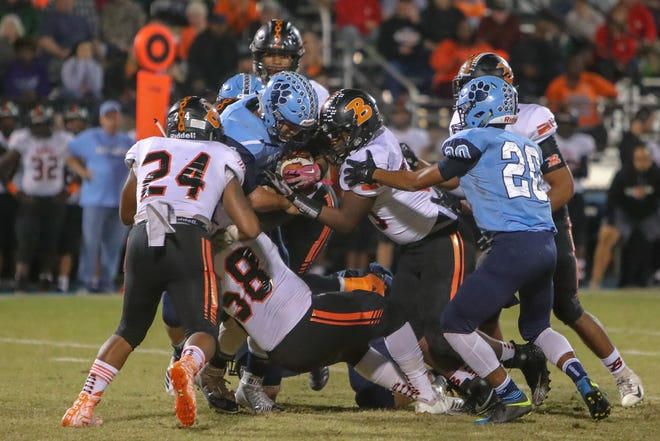 Football for Duplin County schools in the spring could take on added significance because of the limited number of schools in the East Central Conference. [TINA BROOKS/THE DAILY NEWS]