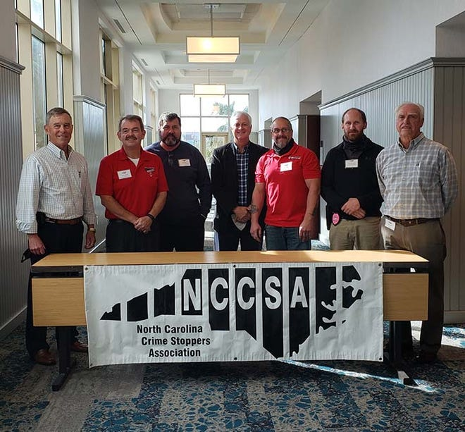 Onslow County Crime Stoppers board members recently attended the annual State Crime Stoppers Association (NCCSA) Conference held at Carolina Beach. 