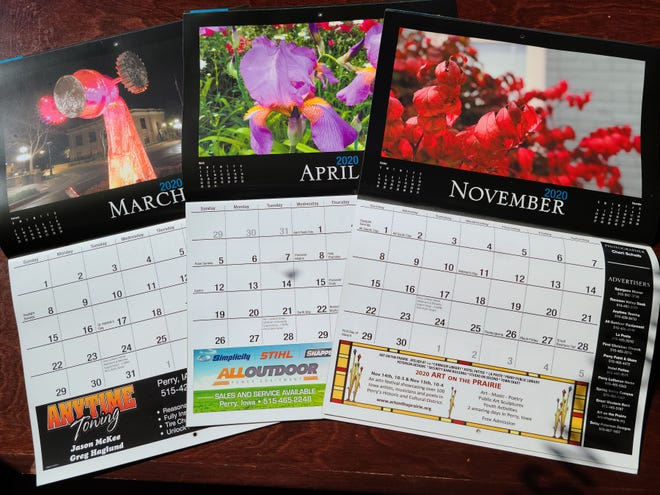 Entries for the Perry Chief calendar photo contest must be received by Friday, Oct. 30.