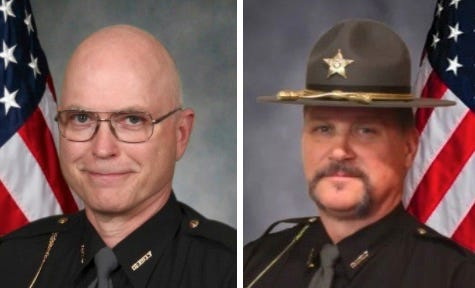 Democrat Greg Johnson, left, and Republican Bruce Zuchowski are running to be the next Portage County sheriff.
