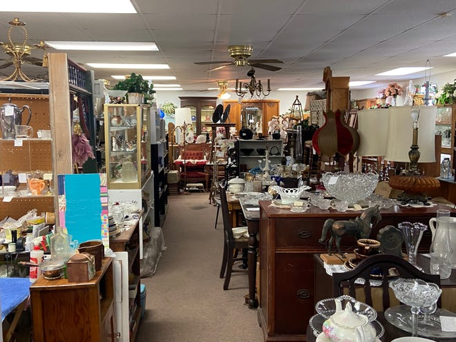 Owner of Oliver Hardin Antiques Cynthia Hardin will celebrate the store's thirty third anniversary in December of this year. PHOTOS BY ELISABETH SLAY.
