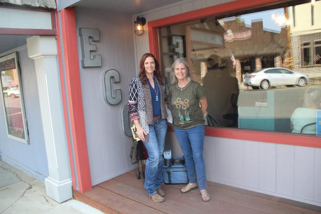 Alison and Meg Pick are the owners of a new outdoor store in Etna: Etna Creek Outfitters.