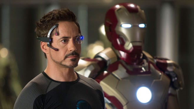 "Robert Downey Jr. returns as Tony Stark/Iron Man in 2013's ""Iron Man 3,"" which shot in Wilmington in 2012."