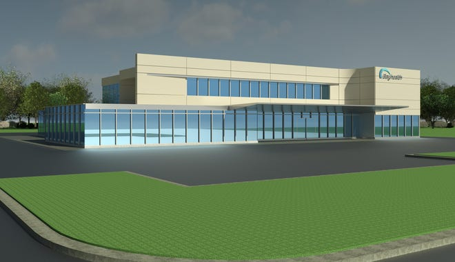 Pictured is a rendering of the recently announced Bayhealth outpatient center near Milton.