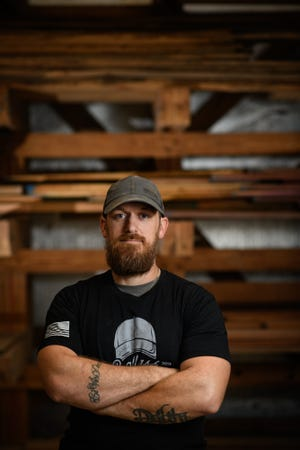 Kurt Ballash, an Army veteran, uses his woodworking skills to help veterans and their families.