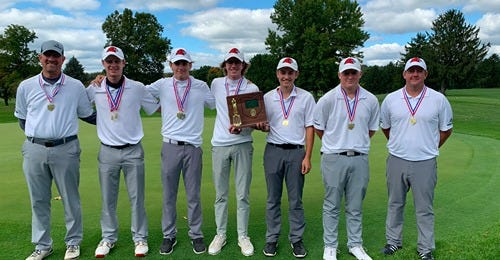 The Hiland boys golf team looks to defend their Division III State Championship this weekend.