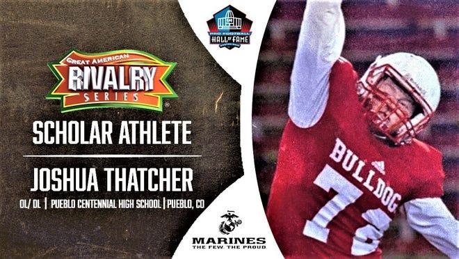 Centennial's Joshua Thatcher is a GARS Scholar Athlete