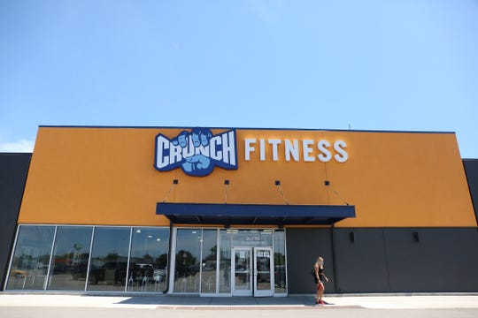 Crunch Fitness in Warren opens its doors for members on Monday, June 29, 2020. The gym has been open since Thursday, June 25, 2020, even though a court ruling came Wednesday night that gyms must remain closed.